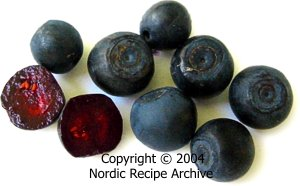 cooking ingredients finnish berries edible and poisonous