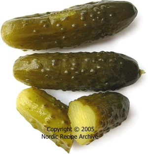 pickled gherkin