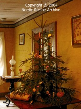 Finnish Christmas traditions: Finnish Christmas decorations