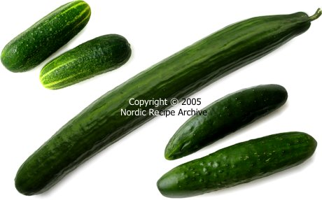 In finland because of the cool climate cucumbers are mainly