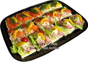 Canap for Canape toppings