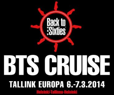 Back to the Sixties -risteily Tallink Europalla 6-7.3.2014